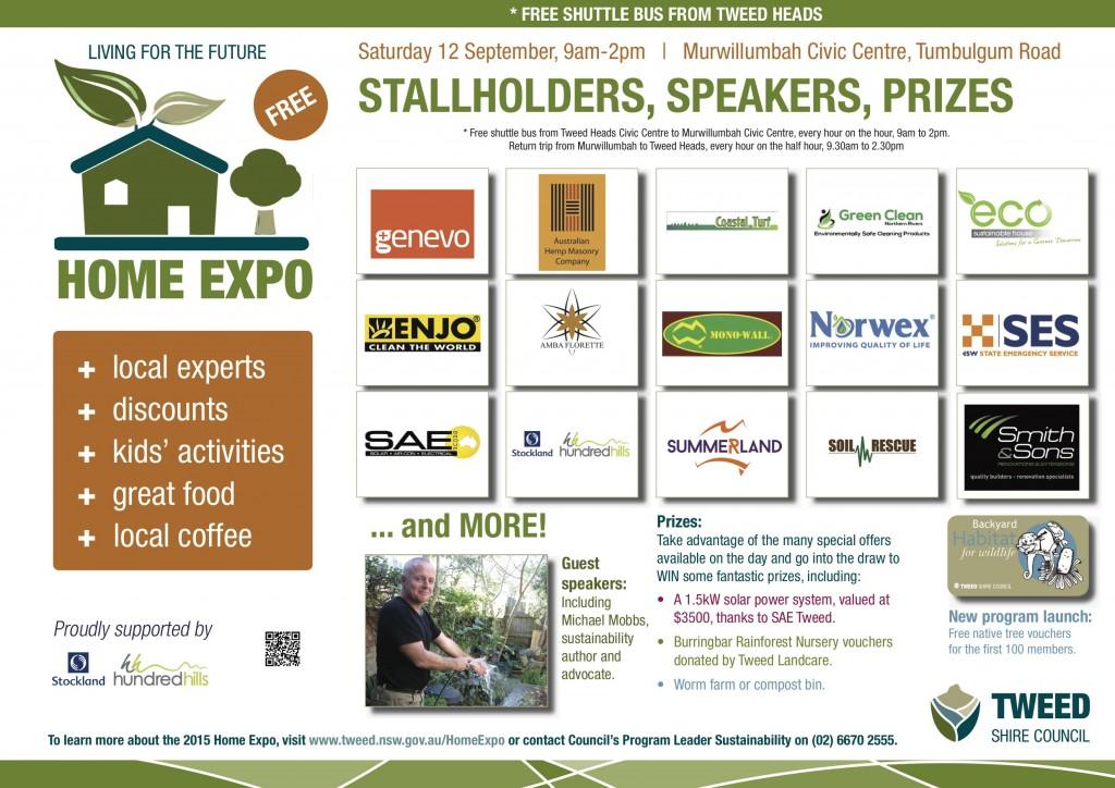 Home Expo Stallholders Poster 2015 (2)